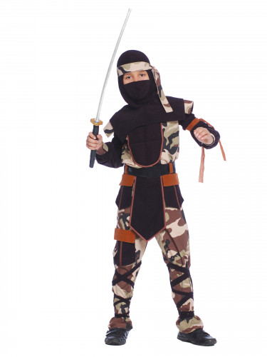Ninja commando kostuum voor jongens