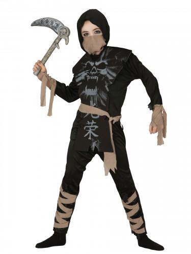 Spook ninja kostuum voor jongens