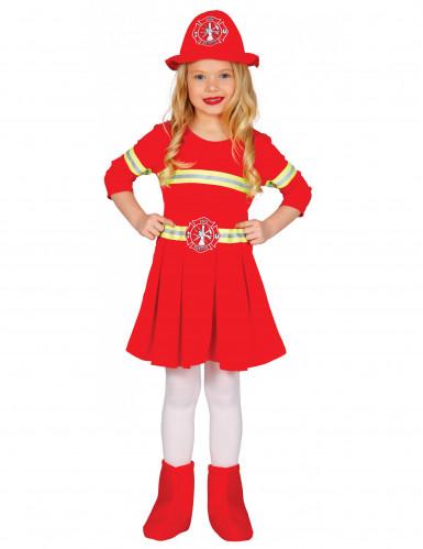 Brandweer kostuum voor meisjes