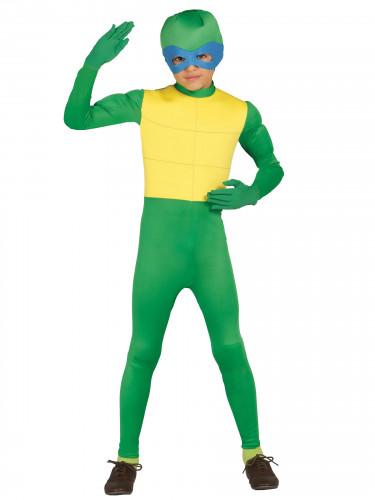 Gemaskerde schildpad kostuum voor jongens