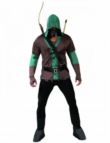 Gemaskerde boogschutter kostuum voor mannen