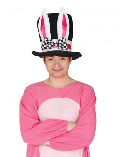 Konijn oren hoge hoed voor volwassenen