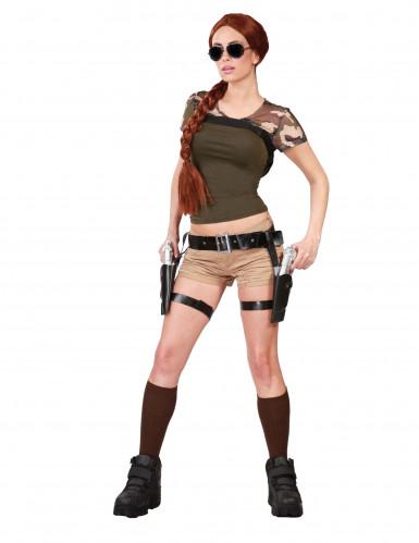 Avonturier riem met pistolen voor volwassenen