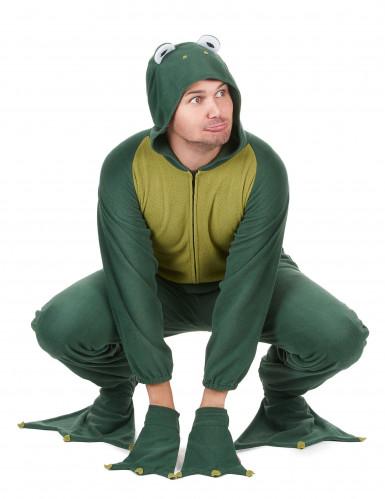 Kikker jumpsuit met capuchon voor heren