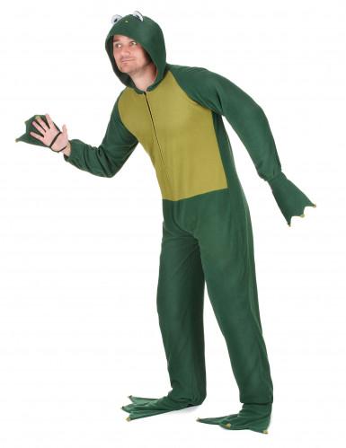 Kikker jumpsuit met capuchon voor heren -1