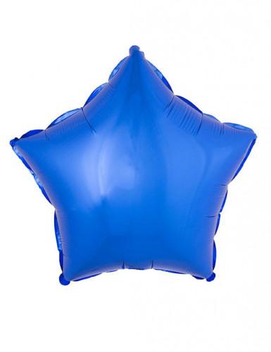 Blauwe ster ballon 45 cm