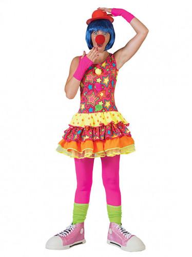 Sterren clown kostuum voor vrouwen