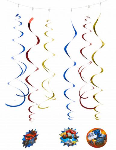 6 Blaze en de Monsterwielen™ spiraaldecoraties