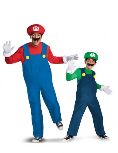Mario™ en Luigi™ vader en kind koppelkostuums