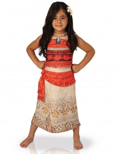 Deluxe Vaiana™ kostuum voor meiden