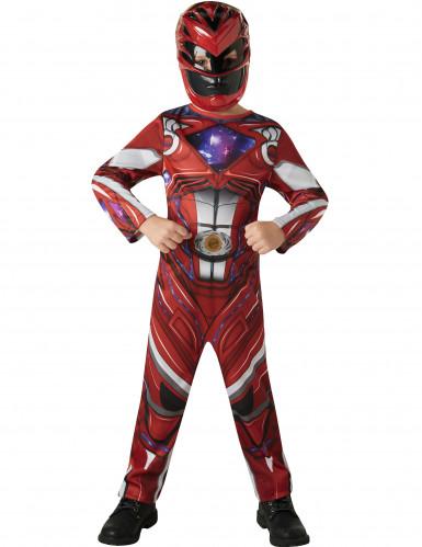 Rode Power Rangers™ kostuum voor kinderen-1