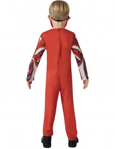 Rode Power Rangers™ kostuum voor kinderen-2