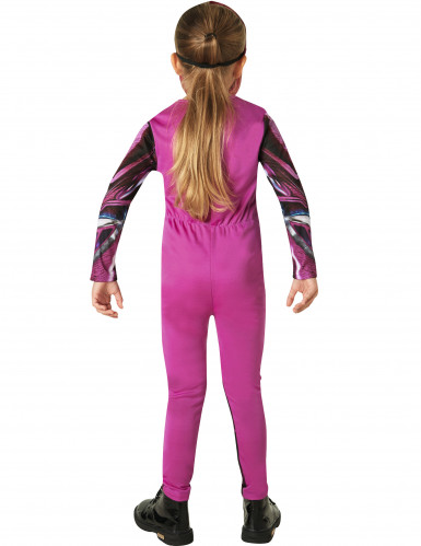Roze Power Rangers™ outfit voor kinderen-2