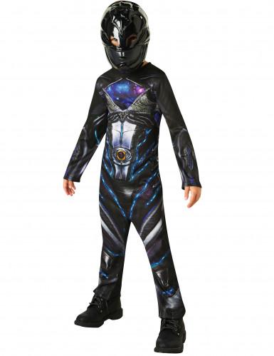Zwart Power Rangers™ kostuum voor kinderen-1