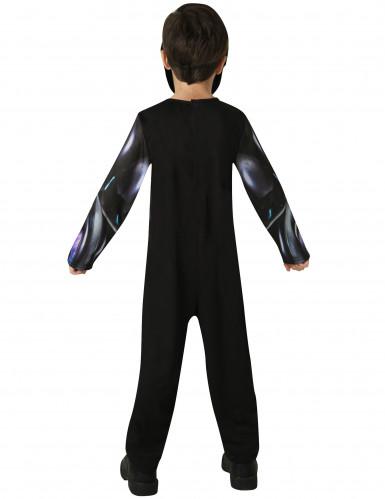 Zwart Power Rangers™ kostuum voor kinderen-2