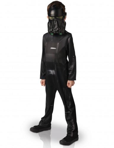 Klassiek Death Trooper™ kostuum voor kinderen