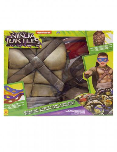 Luxe Ninja Turtles™ kostuum met schild voor kinderen-1