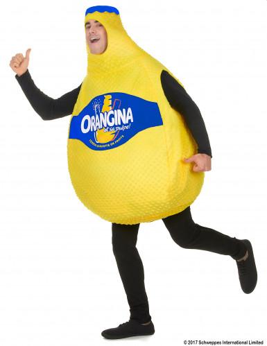 Orangina™ fles kostuum voor volwassenen-1