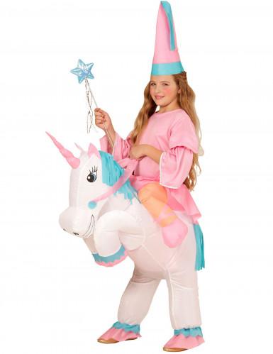 Prinses op eenhoorn kostuum voor meisjes
