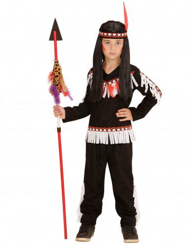 Kleine indiaan kostuum voor jongens