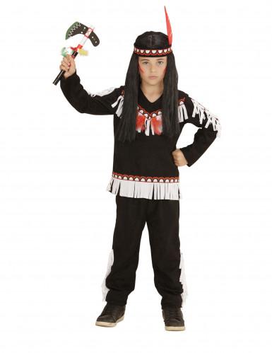 Kleine indiaan kostuum voor jongens-1
