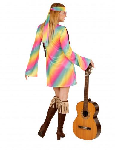 Veelkleurige hippie outfit voor vrouwen-2