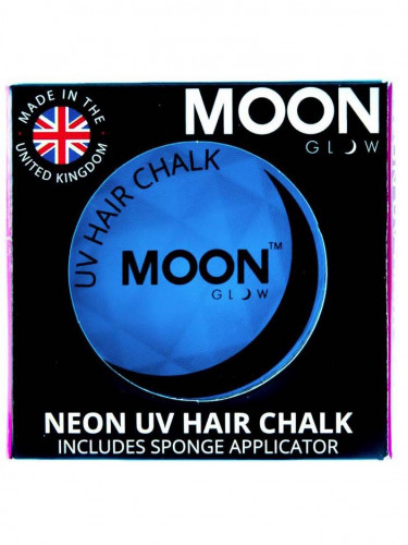 Blauwe UV highlights haar poeder Moonglow©