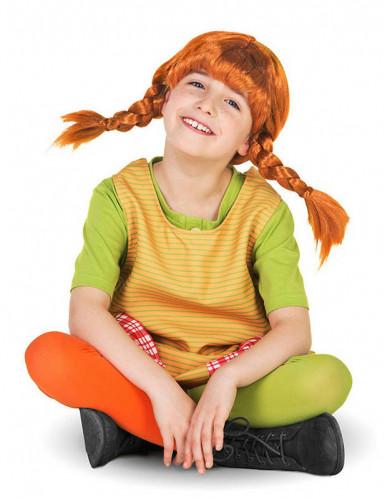 Pippi Langkous™ pruik voor meisjes-1