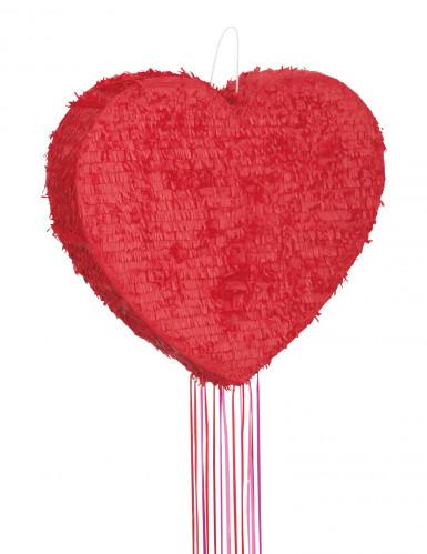 Rood hart pinata