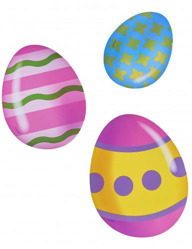 Kartonnen eieren paasdecoratie