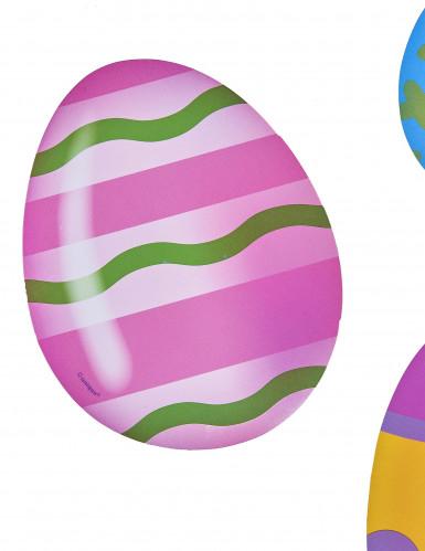 Kartonnen eieren paasdecoratie-1