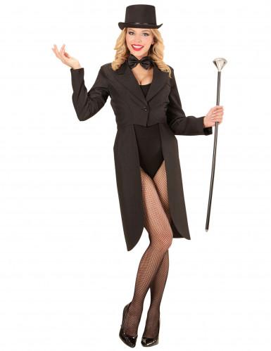 Zwarte slipjas voor vrouwen-1