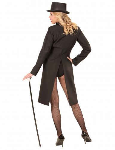 Zwarte slipjas voor vrouwen-2