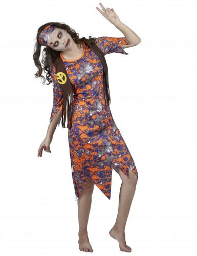 Zombie hippie kostuum voor vrouwen-1