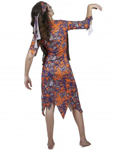 Zombie hippie kostuum voor vrouwen-2