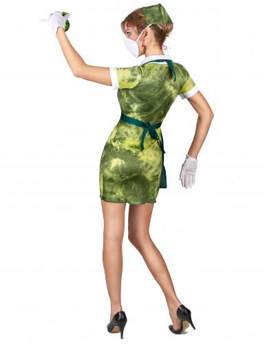 Radioactieve verpleegster kostuum voor vrouwen-2