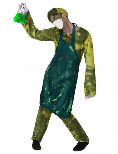 Radioactieve chirurg kostuum voor mannen