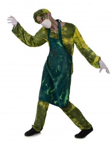 Radioactieve chirurg kostuum voor mannen-1