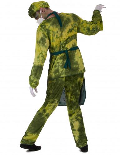 Radioactieve chirurg kostuum voor mannen-2
