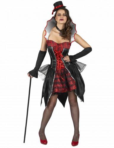Vampier Dracula kostuum voor vrouwen