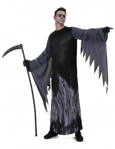 Zwart zielen reaper kostuum voor mannen