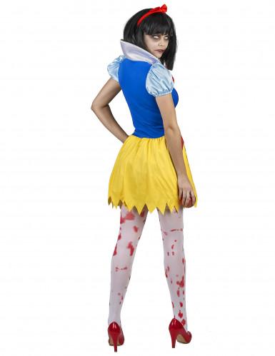 Bloederig Sneeuwwitje kostuum voor vrouwen-2
