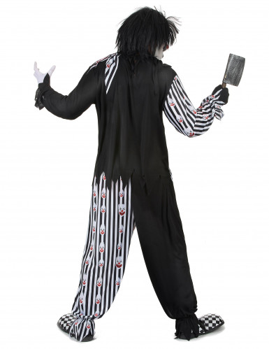 Psychopatische clown kostuum voor mannen-2