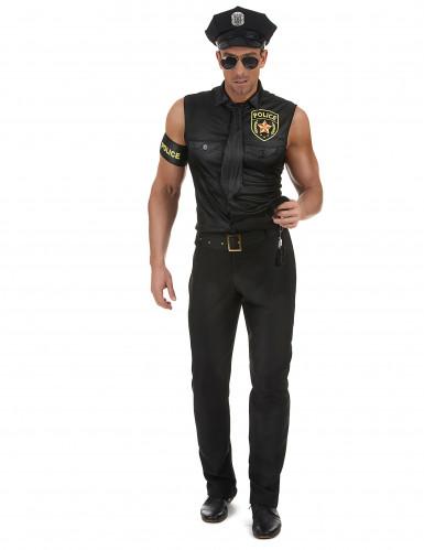 Sexy politie kostuum voor mannen-1