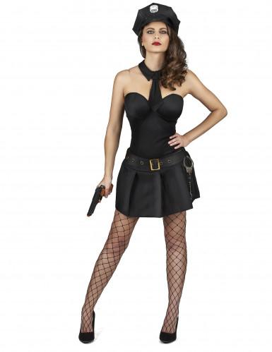 Sexy politie agente jurk voor vrouwen