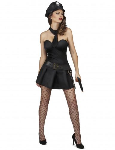 Sexy politie agente jurk voor vrouwen-1