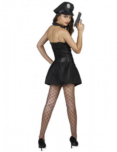 Sexy politie agente jurk voor vrouwen-2