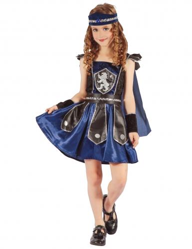 Koninklijke ridder kostuum voor meisjes