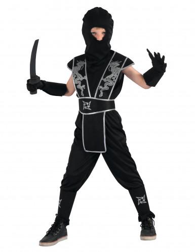 Shuriken ninja kostuum voor jongens