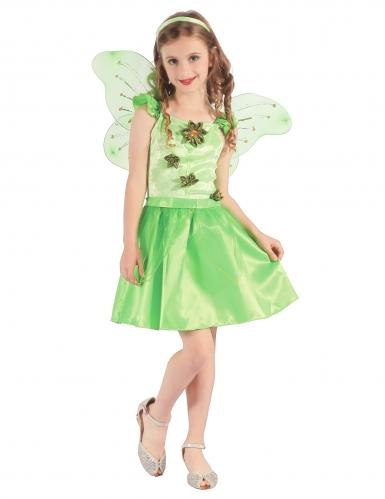 Groene sprookjesfee kostuum voor meisjes